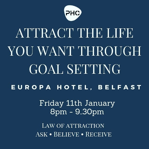 Free Seminar – Attract What You Want Through Goal Setting