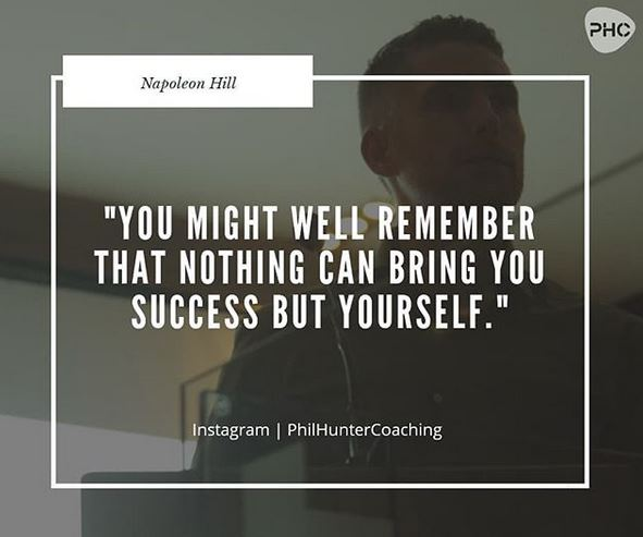 Nothing Can Bring You Success But Yourself