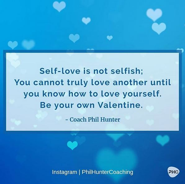 Self-love is not selfish